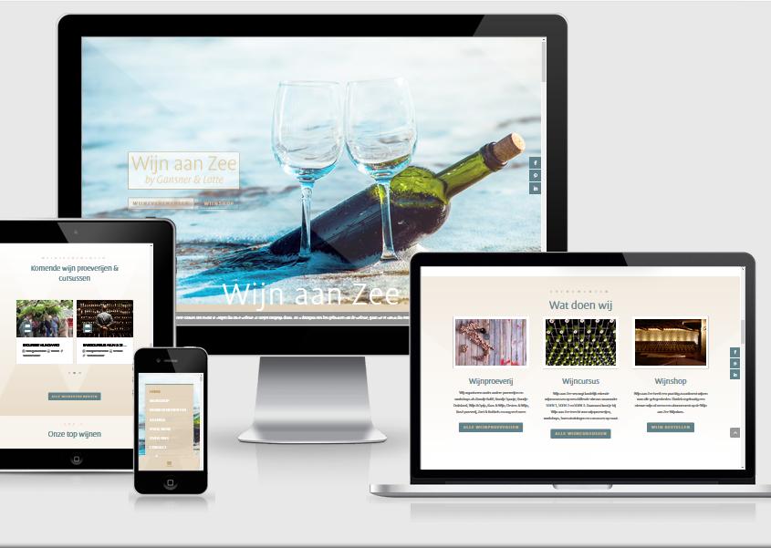 Wijn aan Zee webshop